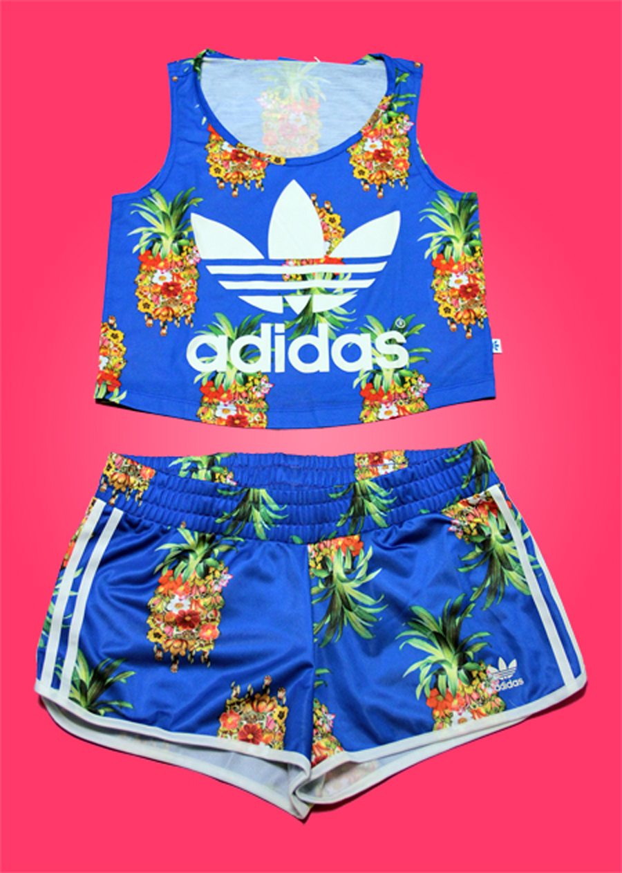 from Byron gays big collection of adidas shorts